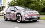Noi detalii despre Volkswagen ID.3: versiunea de lansare a hatchback-ului electric va avea un motor de 204 cai putere și roți motrice spate