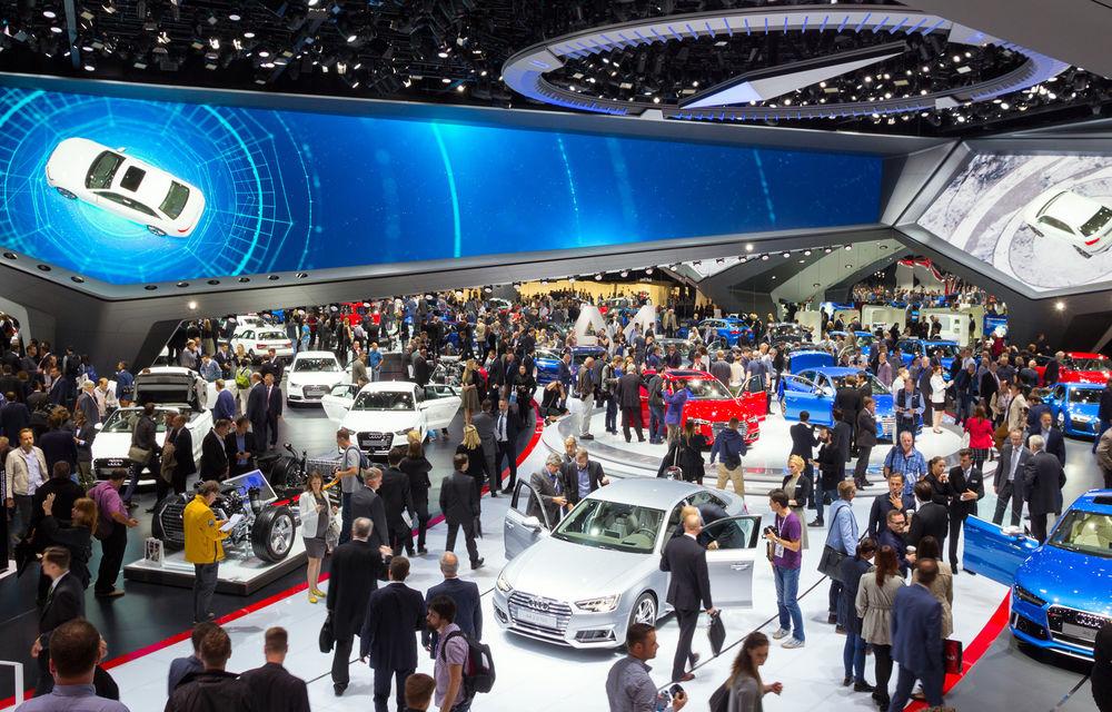 Probleme la Salonul Auto de la Frankfurt: amenințări cu proteste masive împotriva industriei auto - Poza 1