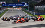 Leclerc a obținut la Spa-Francorchamps prima victorie din carieră în Formula 1! Hamilton și Bottas au completat podiumul