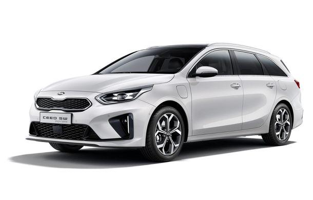 Kia lansează versiuni plug-in hybrid pentru XCeed și Ceed Sportswagon: autonomie de 60 de kilometri, vânzările încep în 2020 - Poza 5