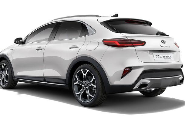 Kia lansează versiuni plug-in hybrid pentru XCeed și Ceed Sportswagon: autonomie de 60 de kilometri, vânzările încep în 2020 - Poza 13