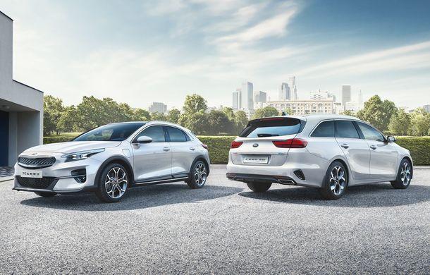 Kia lansează versiuni plug-in hybrid pentru XCeed și Ceed Sportswagon: autonomie de 60 de kilometri, vânzările încep în 2020 - Poza 11