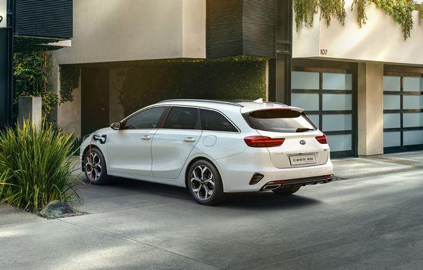 Kia lansează versiuni plug-in hybrid pentru XCeed și Ceed Sportswagon: autonomie de 60 de kilometri, vânzările încep în 2020 - Poza 2