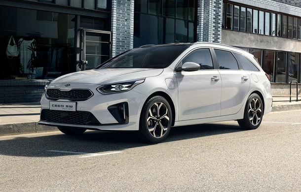 Kia lansează versiuni plug-in hybrid pentru XCeed și Ceed Sportswagon: autonomie de 60 de kilometri, vânzările încep în 2020 - Poza 1