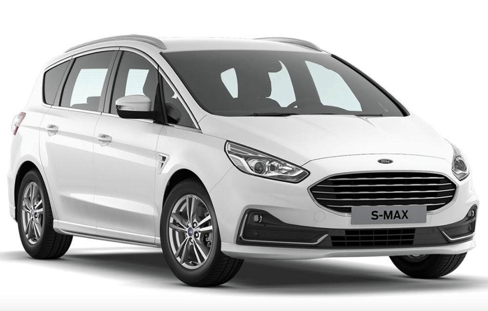 """Ford pregătește un facelift pentru S-Max: primele imagini, """"scăpate"""" în configuratorul pentru piața germană - Poza 1"""