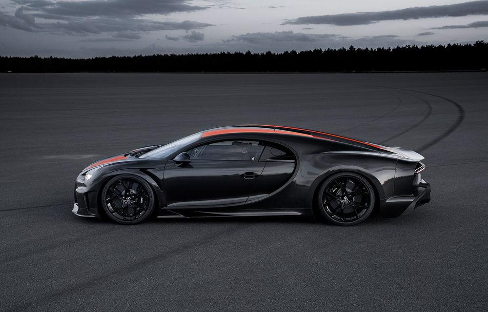 Un prototip al actualului Bugatti Chiron a stabilit un nou record de viteză: modelul din Molsheim a trecut de bariera celor 490 km/h - Poza 4