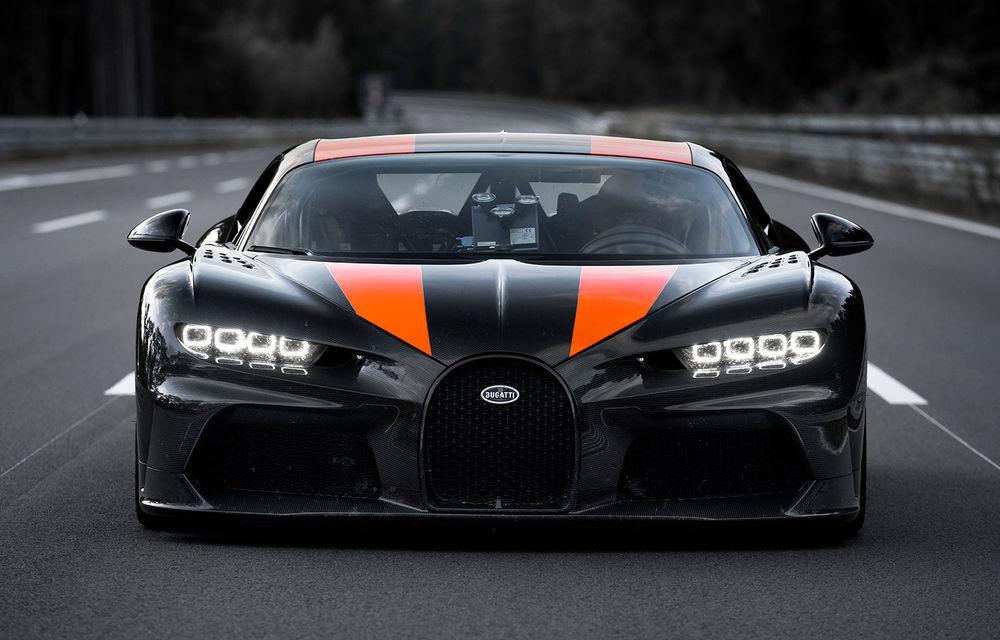 Un prototip al actualului Bugatti Chiron a stabilit un nou record de viteză: modelul din Molsheim a trecut de bariera celor 490 km/h - Poza 1