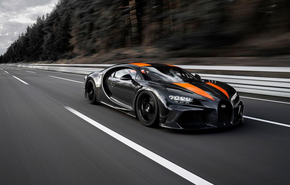 Un prototip al actualului Bugatti Chiron a stabilit un nou record de viteză: modelul din Molsheim a trecut de bariera celor 490 km/h - Poza 2