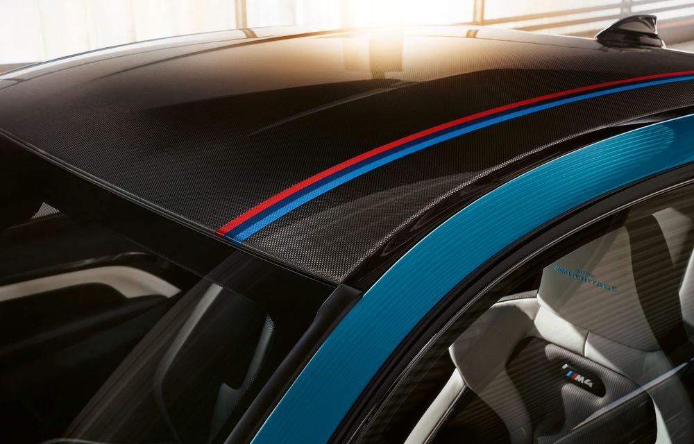 Ediție limitată pentru actualul BMW M4 Coupe: versiunea M Heritage propune culori speciale pentru caroserie, accesorii noi de interior și motorizare cu 450 CP - Poza 9