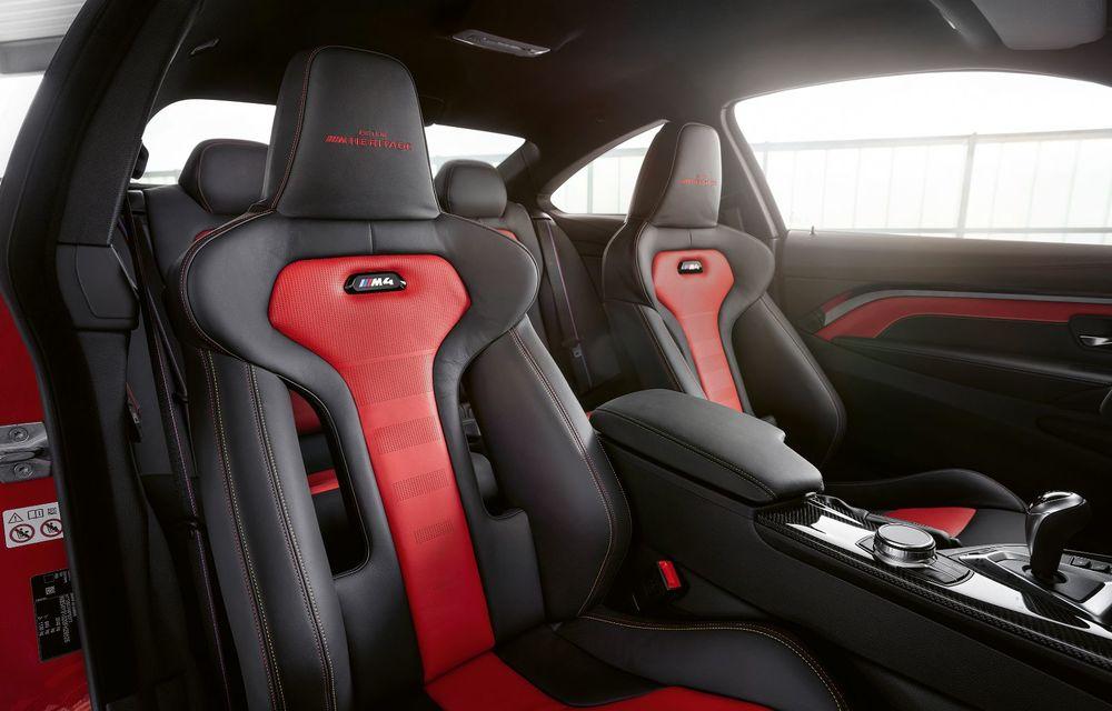 Ediție limitată pentru actualul BMW M4 Coupe: versiunea M Heritage propune culori speciale pentru caroserie, accesorii noi de interior și motorizare cu 450 CP - Poza 11