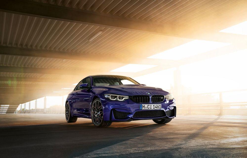 Ediție limitată pentru actualul BMW M4 Coupe: versiunea M Heritage propune culori speciale pentru caroserie, accesorii noi de interior și motorizare cu 450 CP - Poza 4