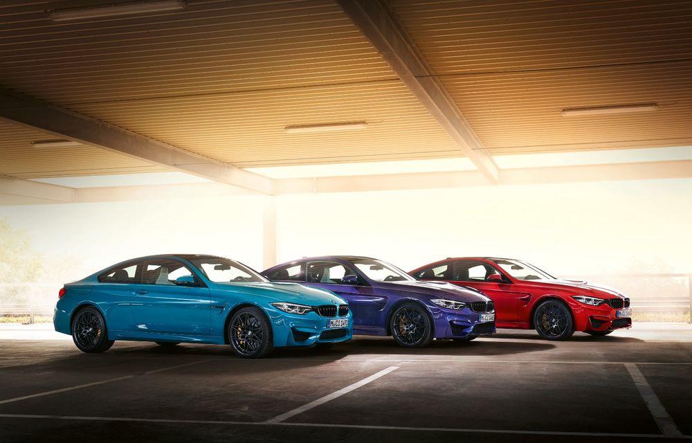 Ediție limitată pentru actualul BMW M4 Coupe: versiunea M Heritage propune culori speciale pentru caroserie, accesorii noi de interior și motorizare cu 450 CP - Poza 6