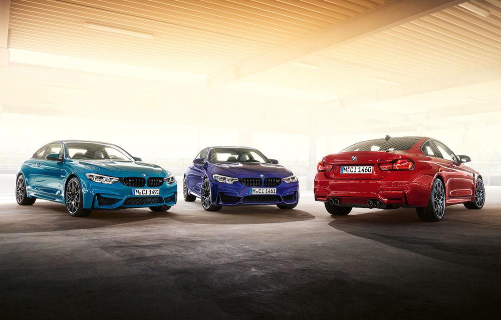 Ediție limitată pentru actualul BMW M4 Coupe: versiunea M Heritage propune culori speciale pentru caroserie, accesorii noi de interior și motorizare cu 450 CP - Poza 1