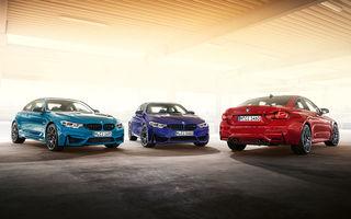 Ediție limitată pentru actualul BMW M4 Coupe: versiunea M Heritage propune culori speciale pentru caroserie, accesorii noi de interior și motorizare cu 450 CP