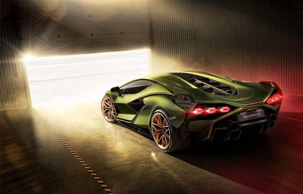 Sian, cel mai puternic Lamborghini de serie de până acum: sistem mild-hybrid la 48V cu supercapacitor, 819 CP și sub 2.8 secunde pentru 0-100 km/h - Poza 10