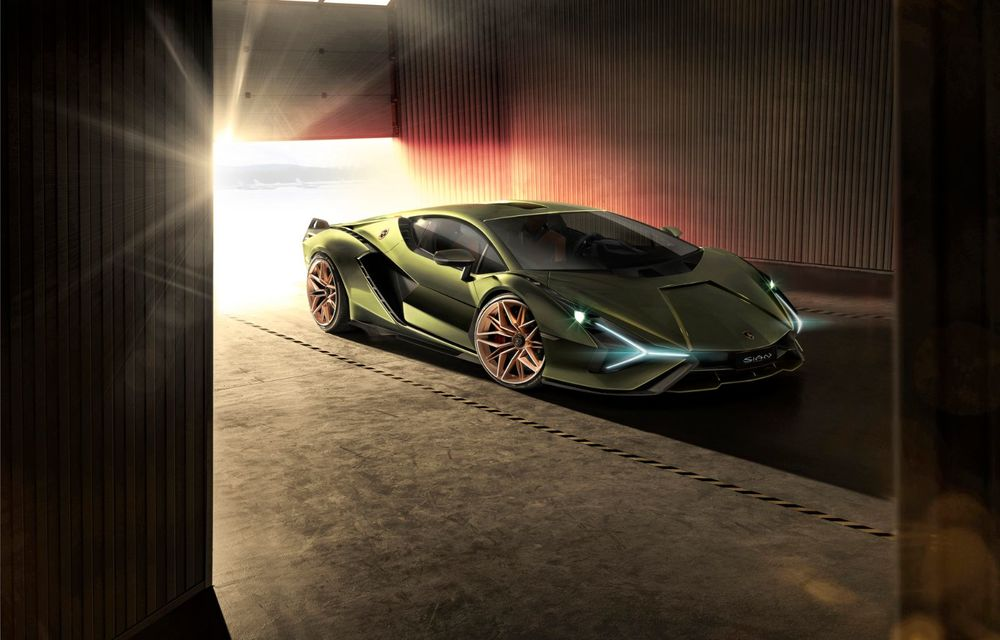 Sian, cel mai puternic Lamborghini de serie de până acum: sistem mild-hybrid la 48V cu supercapacitor, 819 CP și sub 2.8 secunde pentru 0-100 km/h - Poza 4