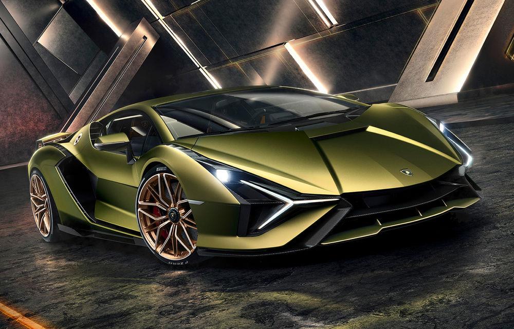 Sian, cel mai puternic Lamborghini de serie de până acum: sistem mild-hybrid la 48V cu supercapacitor, 819 CP și sub 2.8 secunde pentru 0-100 km/h - Poza 1