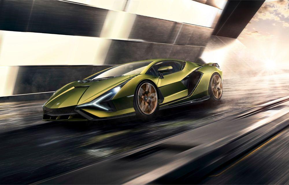 Sian, cel mai puternic Lamborghini de serie de până acum: sistem mild-hybrid la 48V cu supercapacitor, 819 CP și sub 2.8 secunde pentru 0-100 km/h - Poza 2