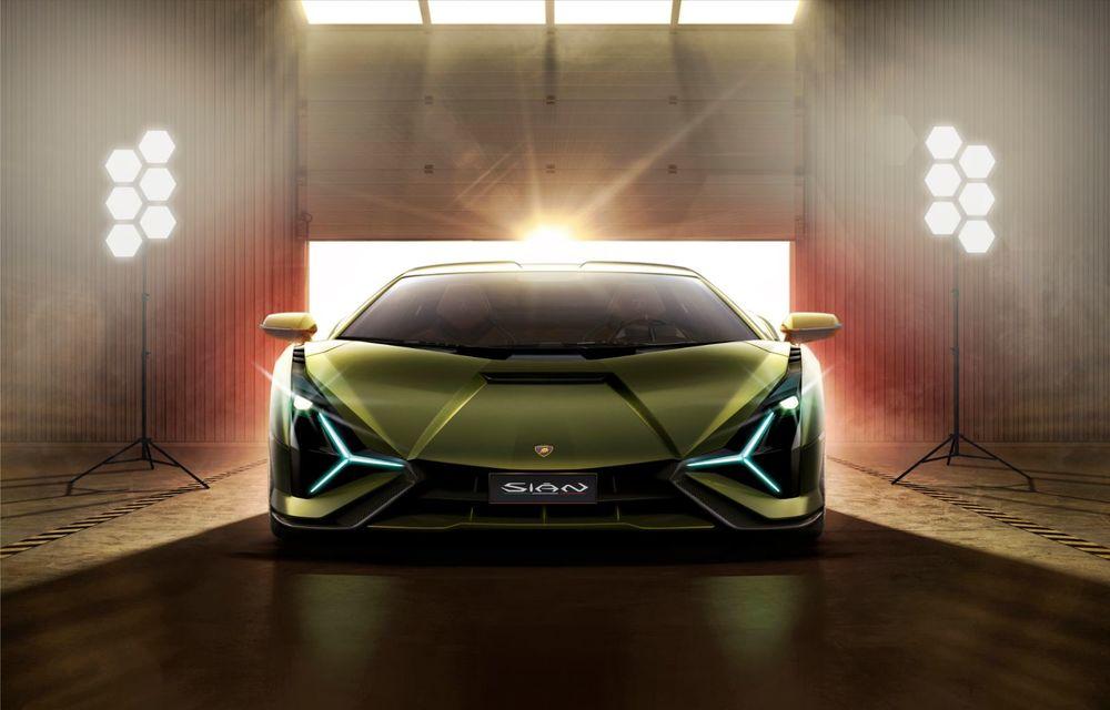 Sian, cel mai puternic Lamborghini de serie de până acum: sistem mild-hybrid la 48V cu supercapacitor, 819 CP și sub 2.8 secunde pentru 0-100 km/h - Poza 3