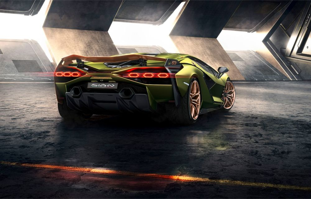 Sian, cel mai puternic Lamborghini de serie de până acum: sistem mild-hybrid la 48V cu supercapacitor, 819 CP și sub 2.8 secunde pentru 0-100 km/h - Poza 11