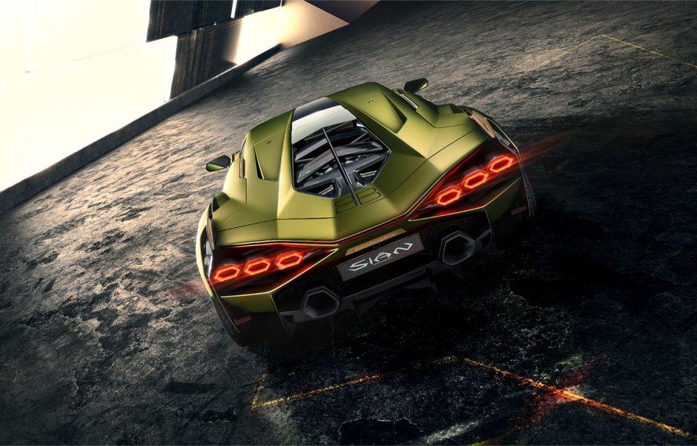 Sian, cel mai puternic Lamborghini de serie de până acum: sistem mild-hybrid la 48V cu supercapacitor, 819 CP și sub 2.8 secunde pentru 0-100 km/h - Poza 14