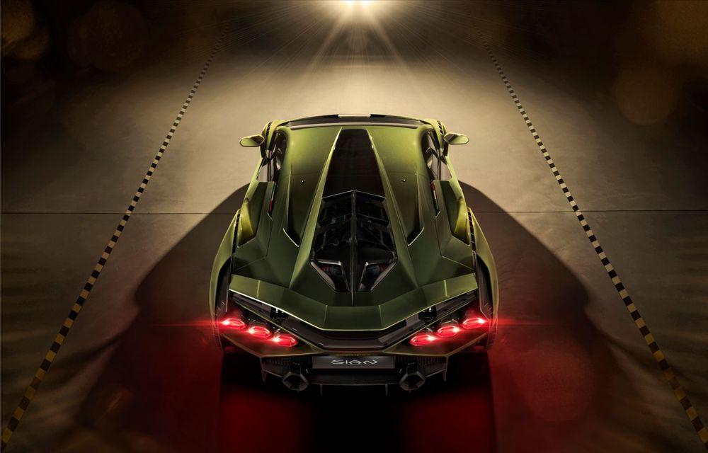 Sian, cel mai puternic Lamborghini de serie de până acum: sistem mild-hybrid la 48V cu supercapacitor, 819 CP și sub 2.8 secunde pentru 0-100 km/h - Poza 15