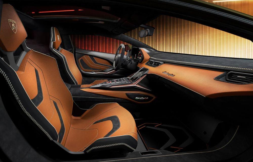 Sian, cel mai puternic Lamborghini de serie de până acum: sistem mild-hybrid la 48V cu supercapacitor, 819 CP și sub 2.8 secunde pentru 0-100 km/h - Poza 17