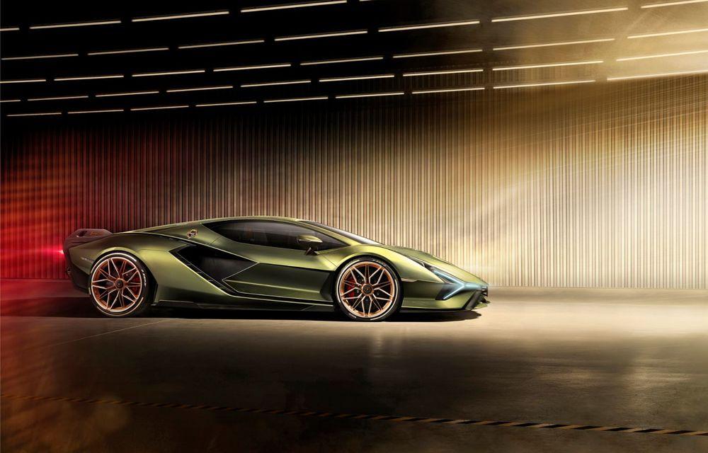 Sian, cel mai puternic Lamborghini de serie de până acum: sistem mild-hybrid la 48V cu supercapacitor, 819 CP și sub 2.8 secunde pentru 0-100 km/h - Poza 7