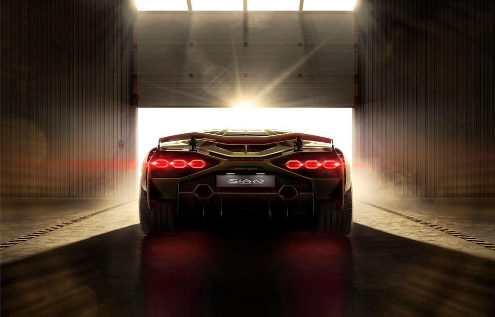 Sian, cel mai puternic Lamborghini de serie de până acum: sistem mild-hybrid la 48V cu supercapacitor, 819 CP și sub 2.8 secunde pentru 0-100 km/h - Poza 9