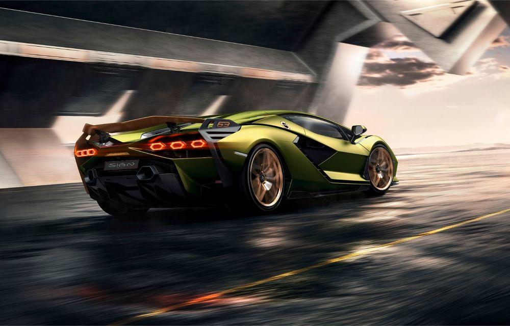 Sian, cel mai puternic Lamborghini de serie de până acum: sistem mild-hybrid la 48V cu supercapacitor, 819 CP și sub 2.8 secunde pentru 0-100 km/h - Poza 12