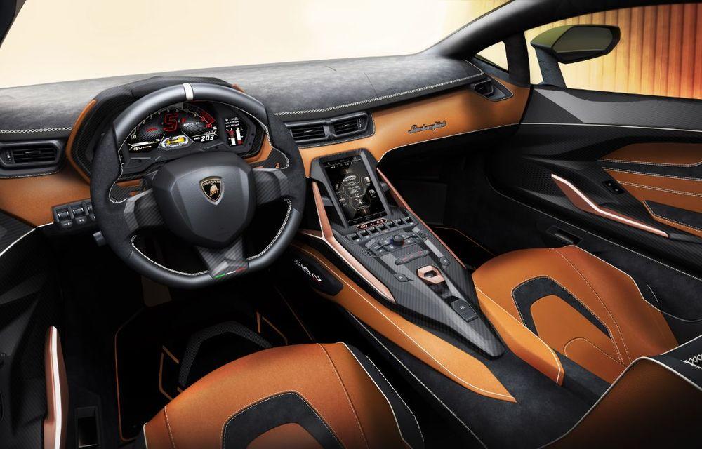 Sian, cel mai puternic Lamborghini de serie de până acum: sistem mild-hybrid la 48V cu supercapacitor, 819 CP și sub 2.8 secunde pentru 0-100 km/h - Poza 18