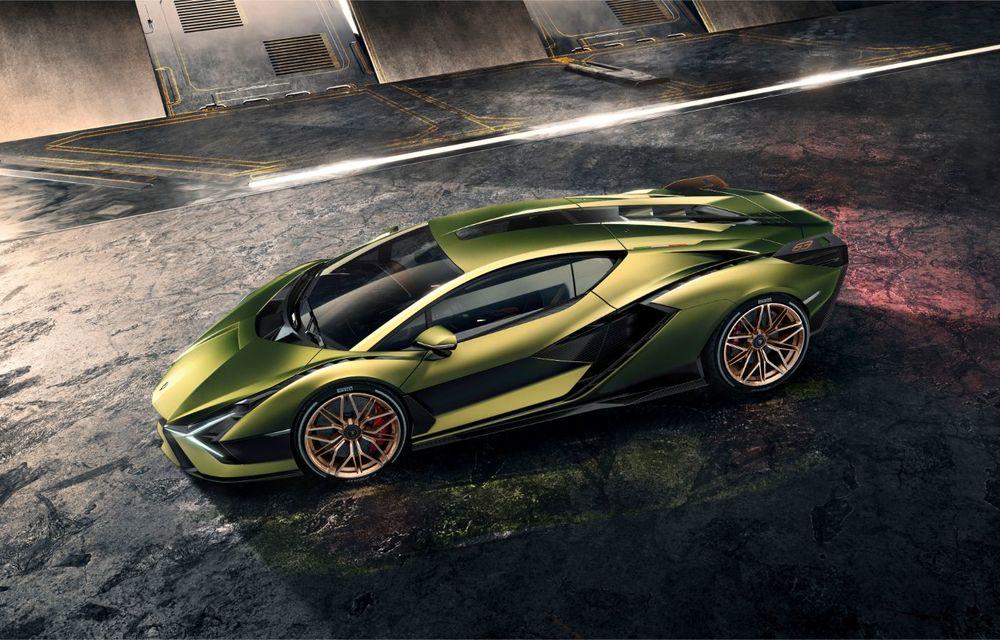 Sian, cel mai puternic Lamborghini de serie de până acum: sistem mild-hybrid la 48V cu supercapacitor, 819 CP și sub 2.8 secunde pentru 0-100 km/h - Poza 8