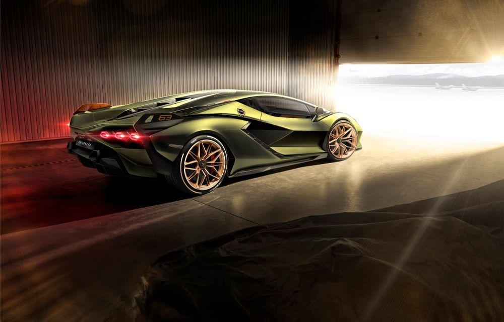 Sian, cel mai puternic Lamborghini de serie de până acum: sistem mild-hybrid la 48V cu supercapacitor, 819 CP și sub 2.8 secunde pentru 0-100 km/h - Poza 13