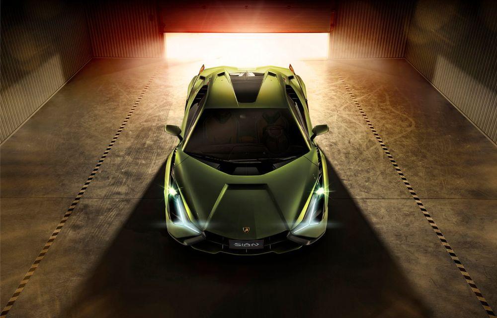 Sian, cel mai puternic Lamborghini de serie de până acum: sistem mild-hybrid la 48V cu supercapacitor, 819 CP și sub 2.8 secunde pentru 0-100 km/h - Poza 5