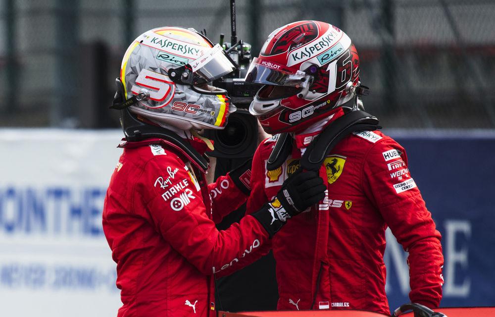 """Leclerc susține că este pregătit să lupte pentru titlul mondial: """"În ultimele 6 sesiuni de calificări am fost într-o formă mai bună decât Vettel"""" - Poza 1"""