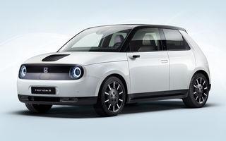 Primele imagini cu versiunea de serie Honda e: modelul electric va avea 154 CP și autonomie de 220 de kilometri
