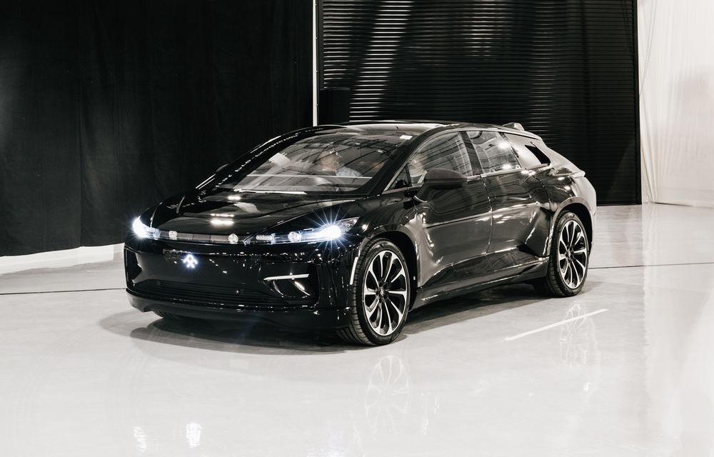 Faraday Future îl recrutează pe creatorul lui BMW i8: compania va începe producția unui SUV electric de 1.000 de cai putere în 2020 - Poza 1