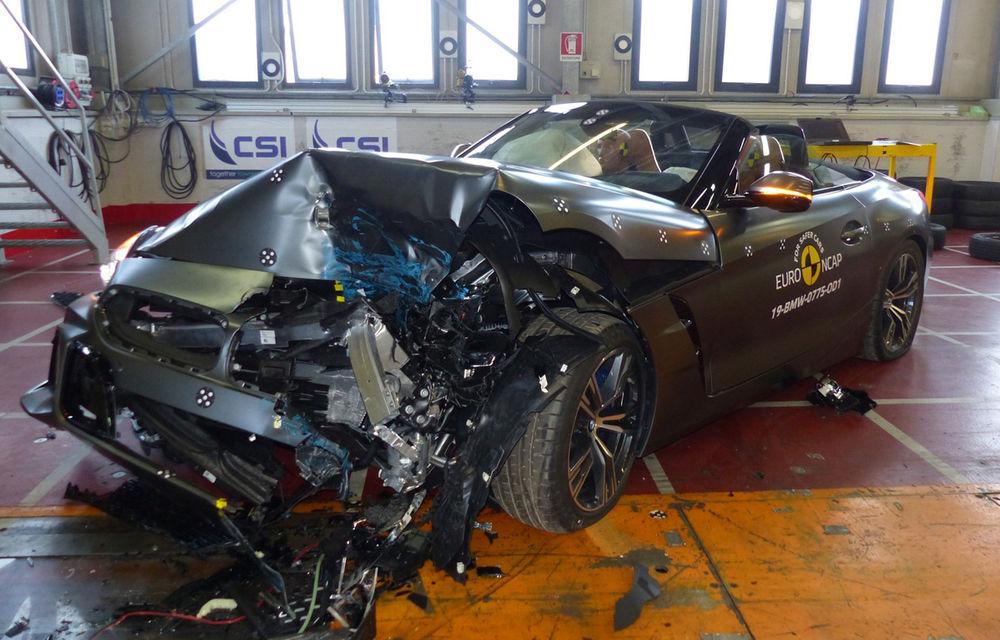 Teste Euro NCAP: 5 stele pentru Mercedes-Benz EQC și CLA, Skoda Kamiq, BMW Z4, Audi A1 și SsangYong Korando - Poza 6