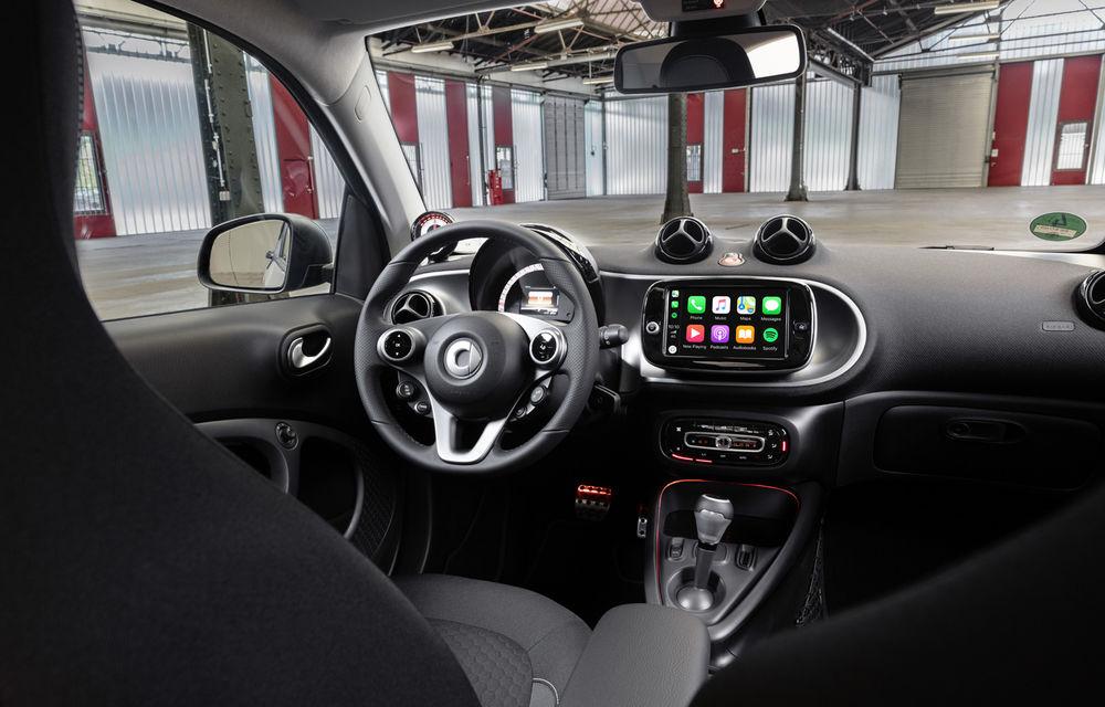 Smart prezintă EQ Fortwo și EQ Forfour facelift: cele două modele rămân doar cu versiuni electrice - Poza 11