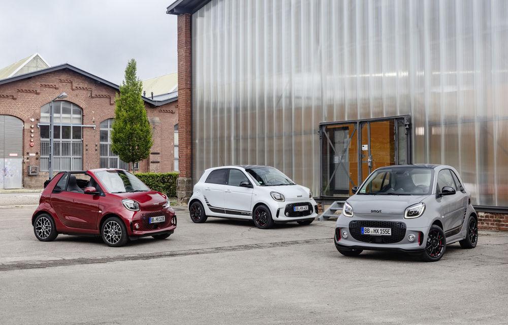 Smart prezintă EQ Fortwo și EQ Forfour facelift: cele două modele rămân doar cu versiuni electrice - Poza 10
