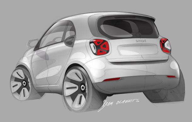 Smart prezintă EQ Fortwo și EQ Forfour facelift: cele două modele rămân doar cu versiuni electrice - Poza 15