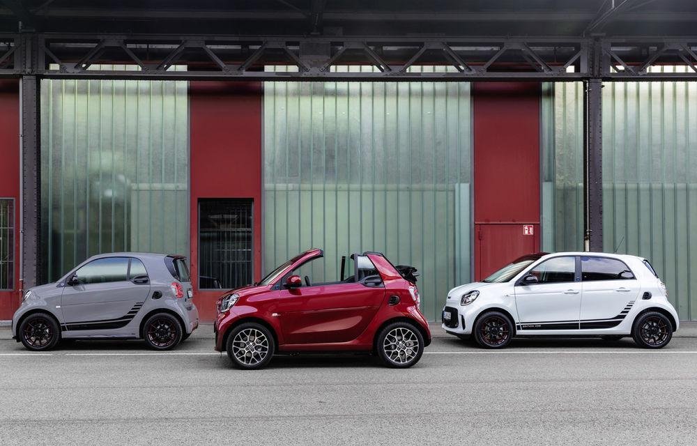Smart prezintă EQ Fortwo și EQ Forfour facelift: cele două modele rămân doar cu versiuni electrice - Poza 9