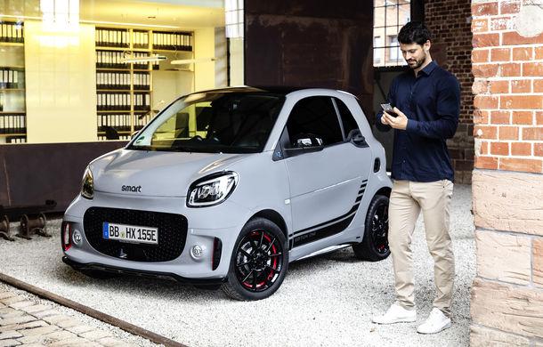 Smart prezintă EQ Fortwo și EQ Forfour facelift: cele două modele rămân doar cu versiuni electrice - Poza 3