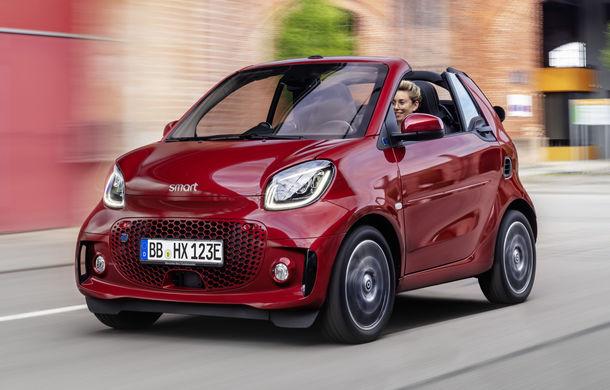 Smart prezintă EQ Fortwo și EQ Forfour facelift: cele două modele rămân doar cu versiuni electrice - Poza 6