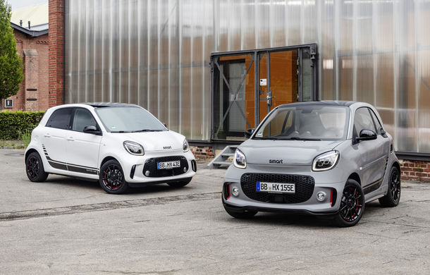 Smart prezintă EQ Fortwo și EQ Forfour facelift: cele două modele rămân doar cu versiuni electrice - Poza 12