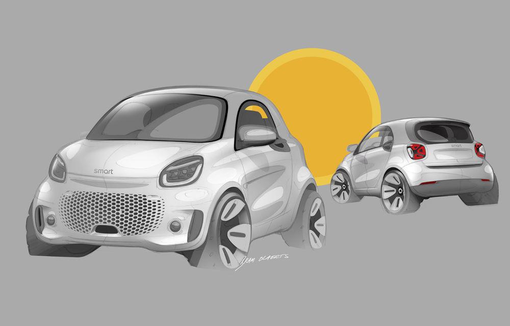 Smart prezintă EQ Fortwo și EQ Forfour facelift: cele două modele rămân doar cu versiuni electrice - Poza 16