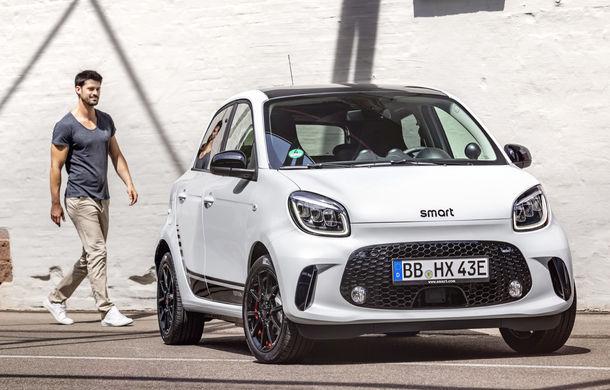 Smart prezintă EQ Fortwo și EQ Forfour facelift: cele două modele rămân doar cu versiuni electrice - Poza 8
