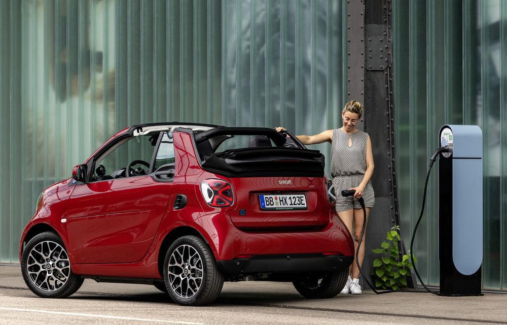 Smart prezintă EQ Fortwo și EQ Forfour facelift: cele două modele rămân doar cu versiuni electrice - Poza 4