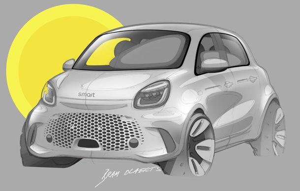 Smart prezintă EQ Fortwo și EQ Forfour facelift: cele două modele rămân doar cu versiuni electrice - Poza 17