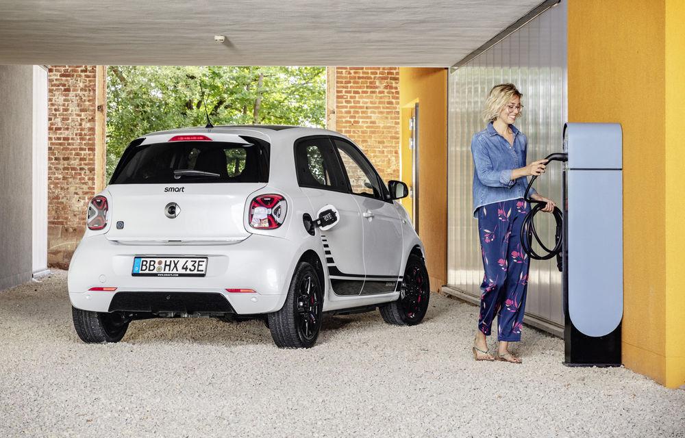 Smart prezintă EQ Fortwo și EQ Forfour facelift: cele două modele rămân doar cu versiuni electrice - Poza 7